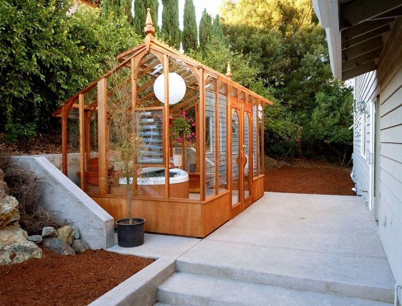 Greenhouse She Shed 22 Awesome Diy Kit Ideas Hot Tub Outdoor Hot Tub Cover Hot Tub Plans