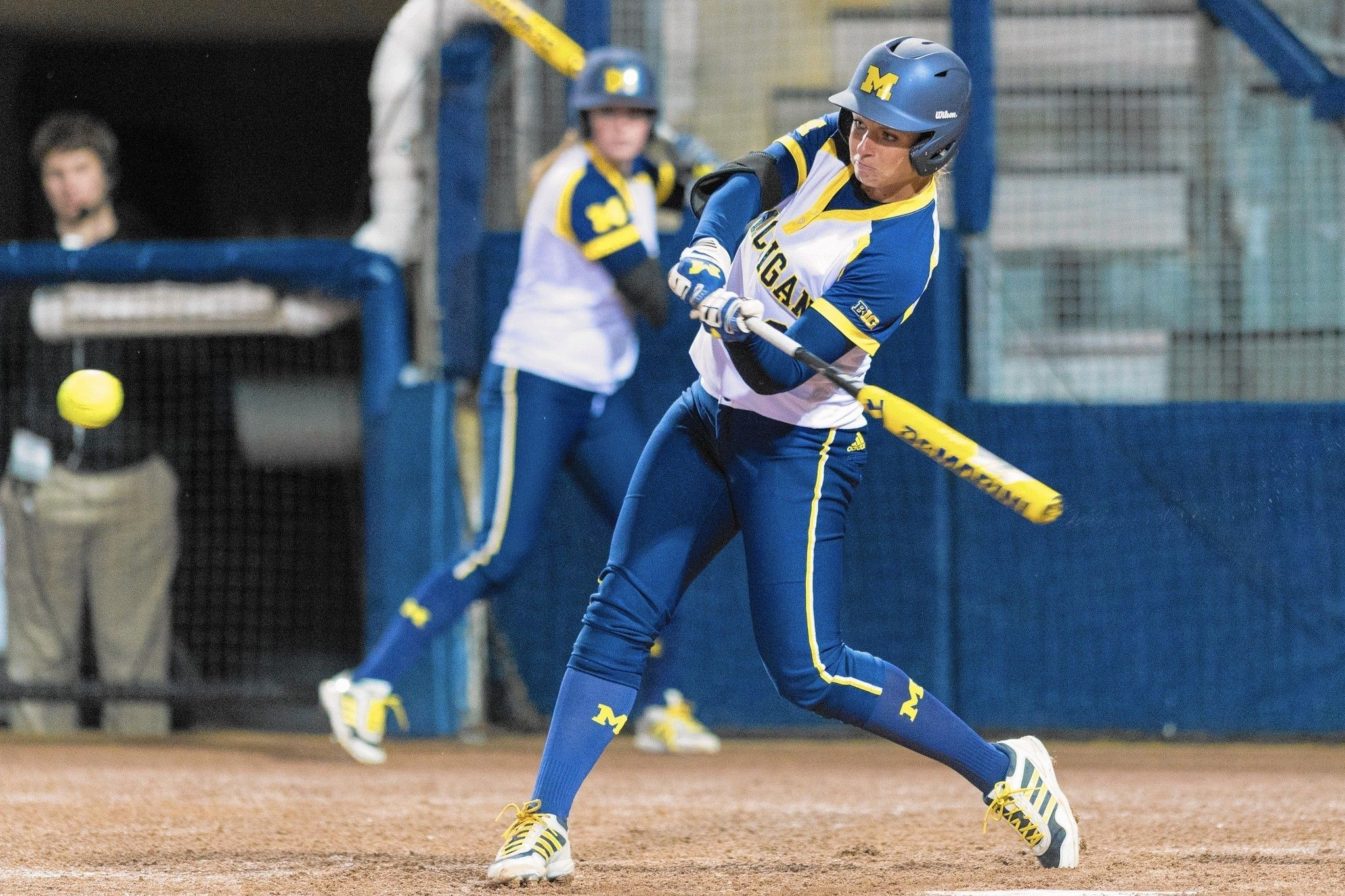 Andrew Graduate Kelly Christner Turns Into Star For Powerhouse Michigan Michigan Softball Baseball Women Fastpitch Softball