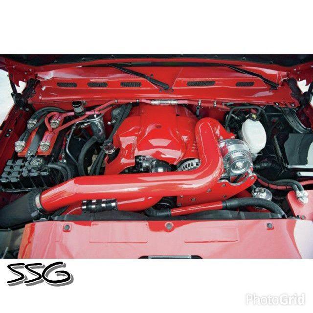 Supercharger For Silverado 4 8: Chevy Silverado Lq9 6.0l Red Engine Cover Supercharger