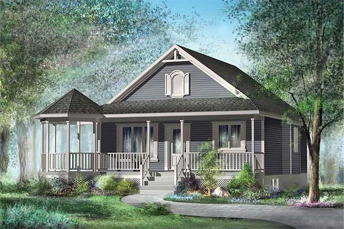 Plan 80319pm Charming Vacation Home Plan Country Style House Plans Country House Plans House Plans