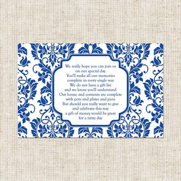 Wedding Gift Poem Cards: Gift+card+poem+for+bridal+shower