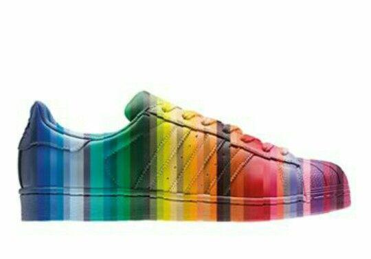 superstar adidas de colores