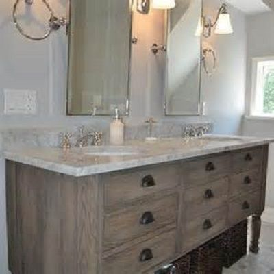 15 Antique And Ancient Weathered Wood Bathroom Vanity Ideas Wood Bathroom Vanity Distressed Bathroom Vanity Oak Vanity Bathroom