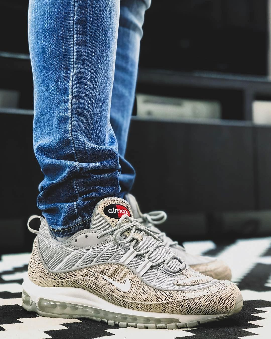What Did You Wear Today Supreme X Nike Air Max 98 Snakeskin