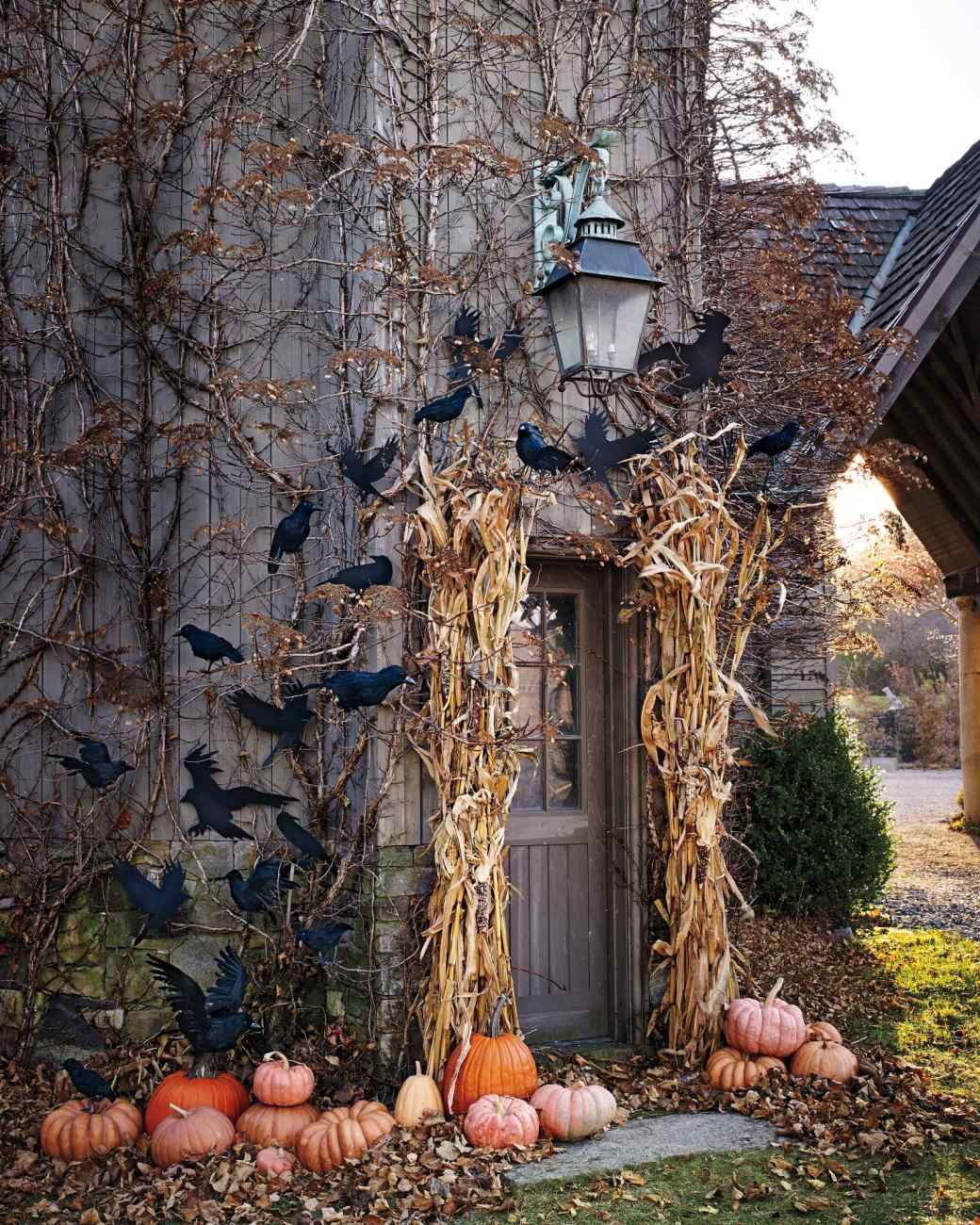 Decoration Exterieur Halloween Flock Of Crows A Halloween Craft Déco D 39halloween