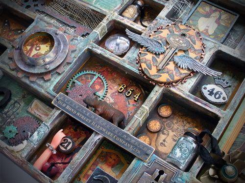 """Résultat de recherche d'images pour """"steampunk tim holtz"""""""