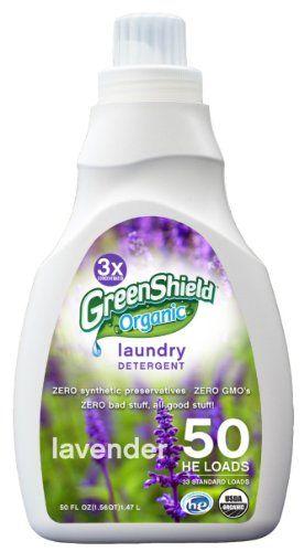 Greenshield Organic Usda Organic Lavender Liquid Laundry