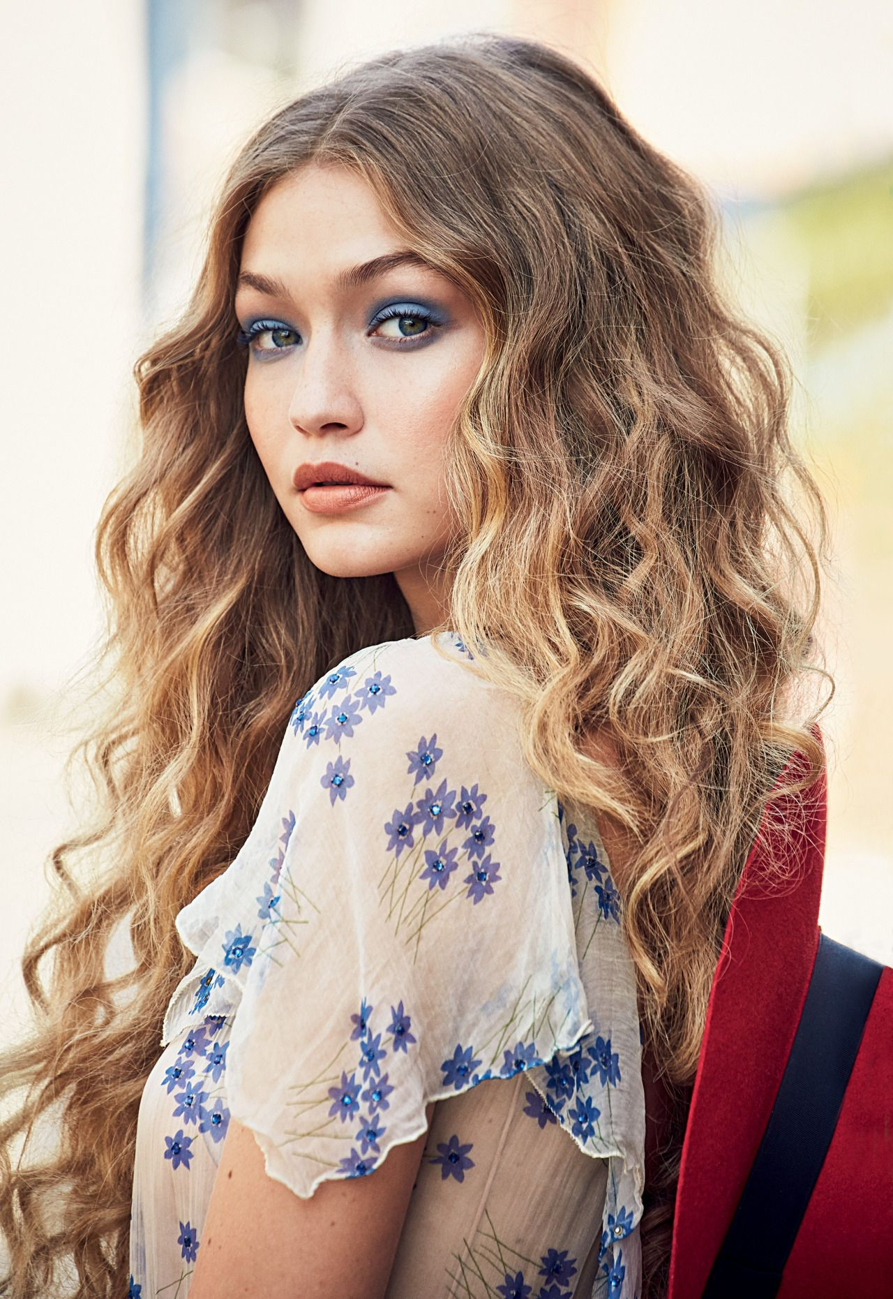 8e70037c7 gigihadidaily  Gigi Hadid for Allure Magazine - Lace   Other Things ...