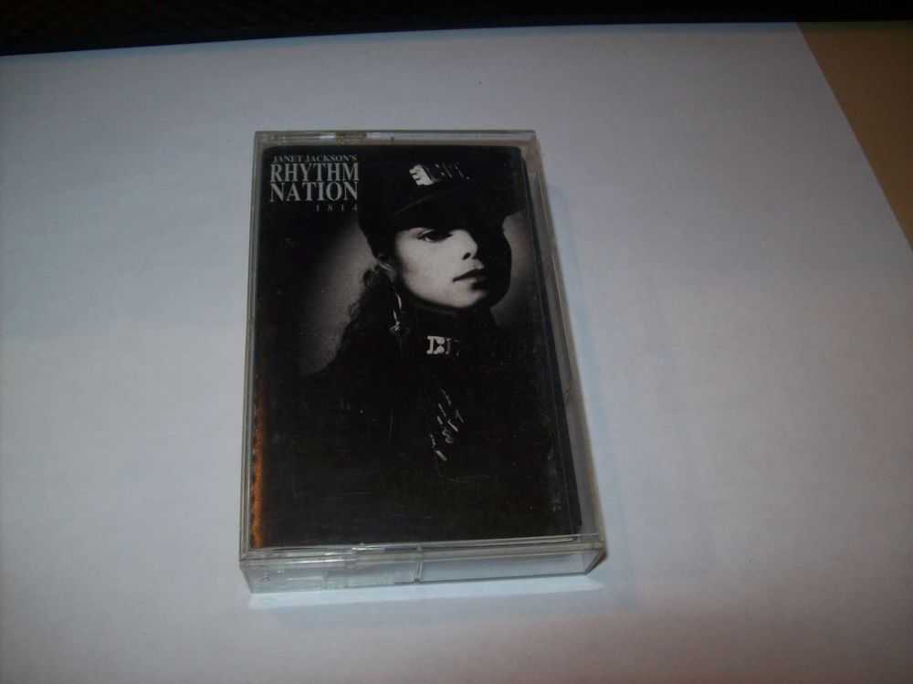 Jackson cassette rhythm nation jackson