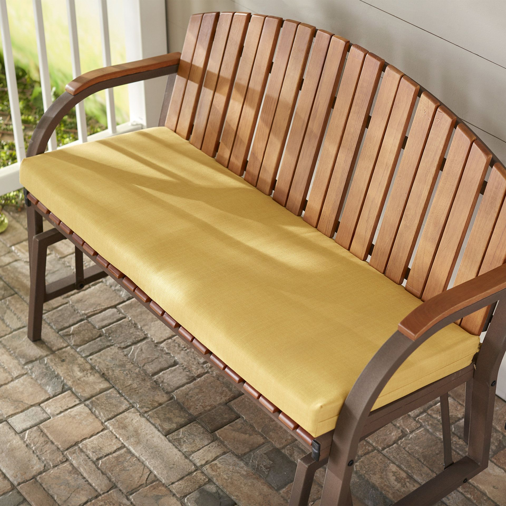 Indoor/Outdoor Bench Cushion Bench cushions, Outdoor