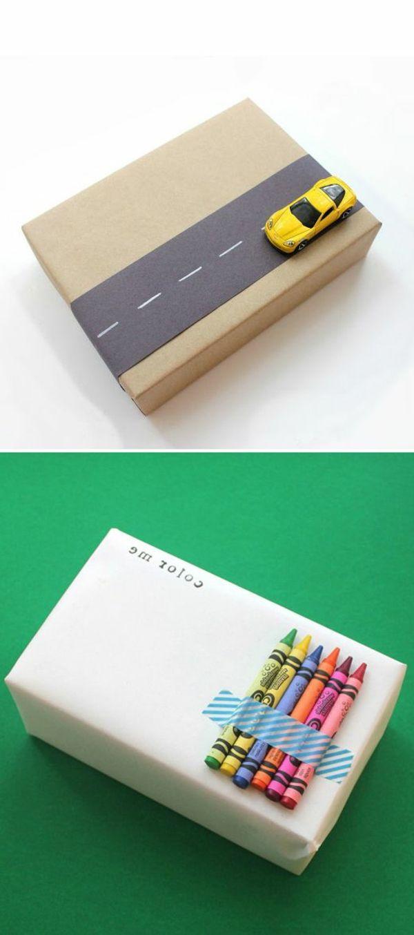 Geschenke verpacken - 70 fantastische Ideen! - Archzine.net #cadeauxàréalisersoimême