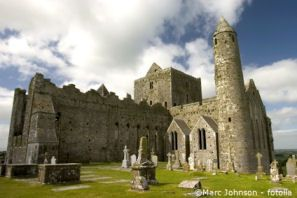Panoramic view of the historic Rock of Cashel