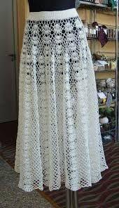 fd16384ef Resultado de imagen para faldas largas tejidas a crochet   0.1 ...