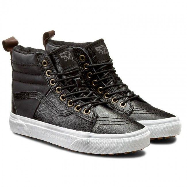 4db5a5303c7 Сникърси VANS - Sk8-Hi 46 Mte VN0A2XS2JTQ (Pebble Leather) Black ...