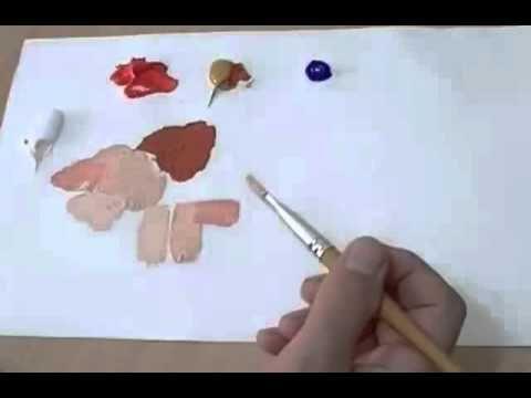 Un Paysage Marin Alors Que Les Images De Cet Article Font Partie D Un Tableau Acheve Ce Cours Sera Axe Peinture Melange De Couleur Couleur Peinture