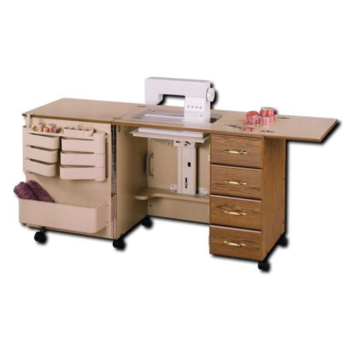 Sawyer Sewing Centre, SAWYERSu0027 FURNITURE PAGE, PFAFF, Babylock, ELNA,  BERNINA, Trampolines, Sylvia Design Sewing Cabinets, Sawyer Sewing Cab.