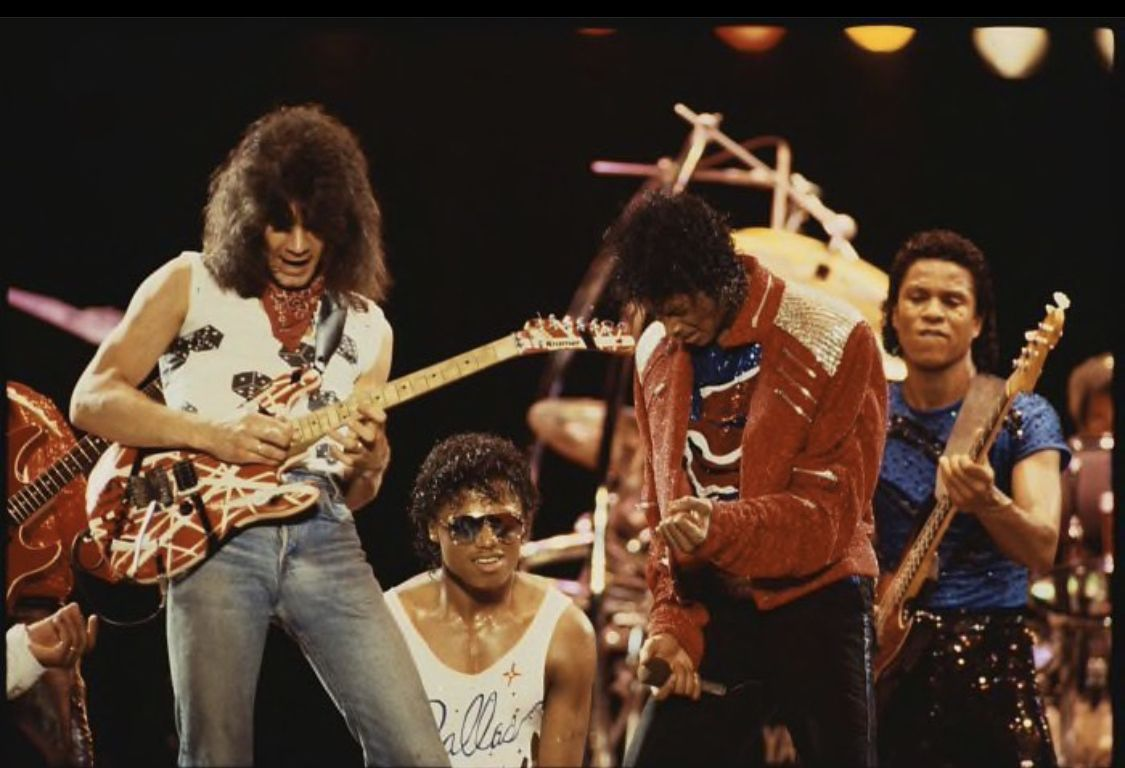 Pin By Adrian F On Eddie Van Halen Michael Jackson Live Van Halen Eddie Van Halen