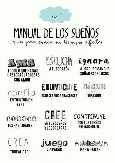 Manual of dreams