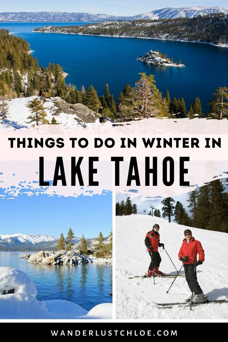 With spectacular scenery, world-class skiing, music festivals and a whole range of outdoor activities on offer, there are so many wonderful things to do in Lake Tahoe in winter! Find out about the best places to skiing, some rainy day activities, great cafes, bars and restaurants and the best viewpoints around Lake Tahoe. If you're planning a winter vacation in Lake Tahoe, this is the guide for you. #LakeTahoe #California #Nevada #WinterHoliday #WinterVacation