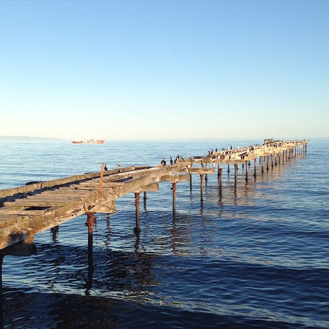 In Punta Arenas, CHILE. Antarctica is on the other side...