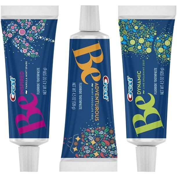 New Line of Crest Flavored Toothpastes for Spring 2014
