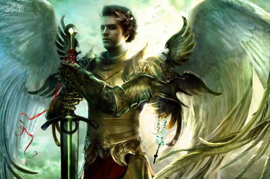 Image result for archangel raphael fantasy art