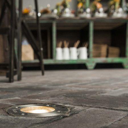 Bodeneinbaustrahler Basic Round LED #Lampen #Wohnen #Life #Living ...