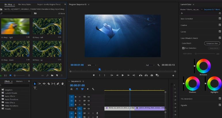 how to crop video in premiere elements