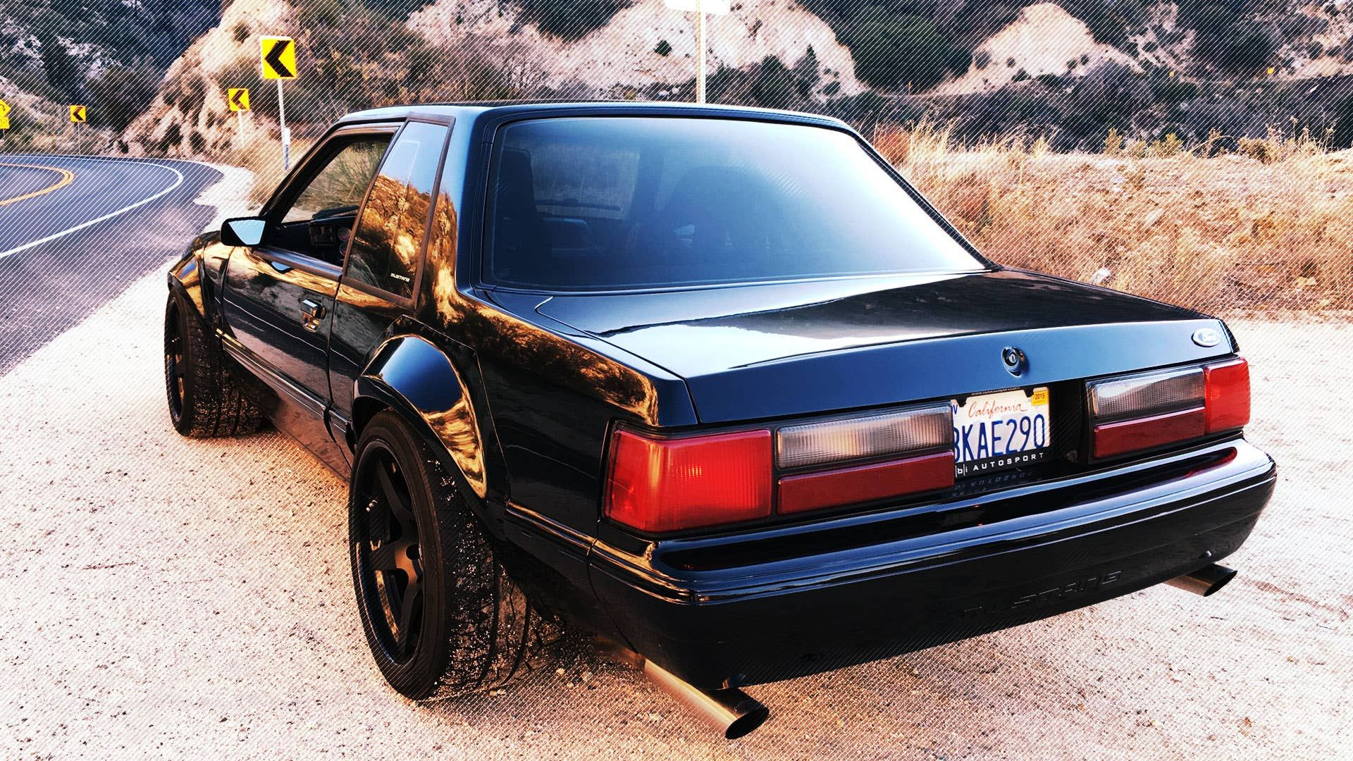 Can The Fox Body Ford Mustang Be A Legit Track Car The Drive Fox Body Mustang Mustang Notchback Mustang