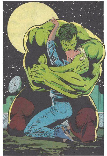 She Hulk And Red She Hulk Kiss
