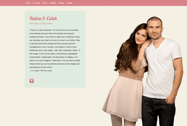 Wedding websites for a soon to be married couple   Featured     Wedding websites for a soon to be married couple