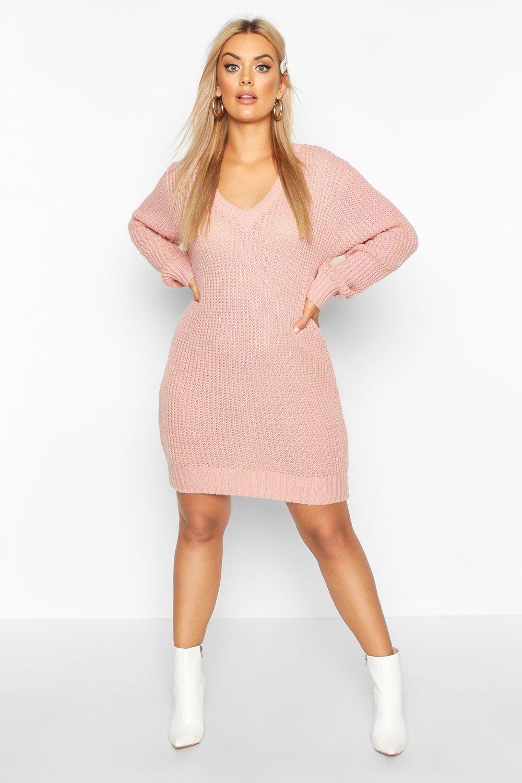 23++ Boohoo v neck jumper dress inspirations