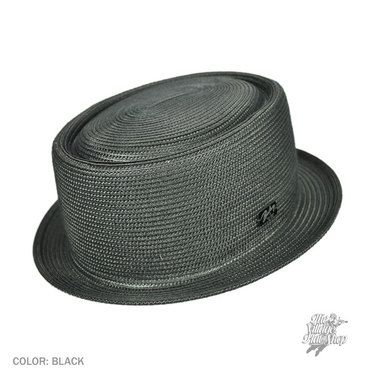 Bailey Johnny Pork Pie Hat (Black)  341946c93