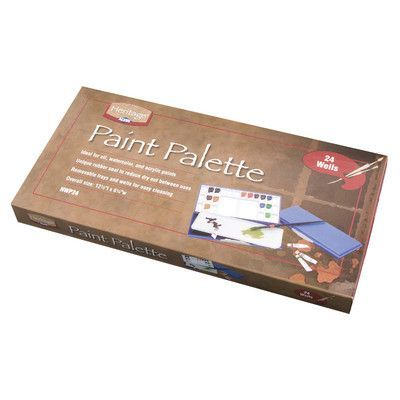 Alvin and Co. Heritage Artist Palette Size: 24