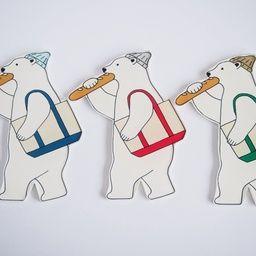 Snormさんの作品一覧 刺繍 図案 クマ イラスト クマのアート