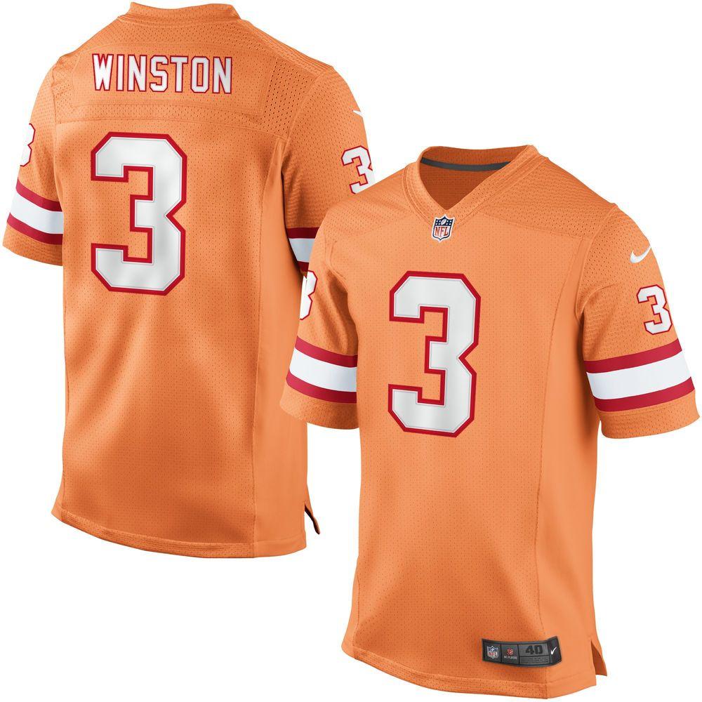 Jameis Winston Tampa Bay Buccaneers Nike Elite Jersey - Orange