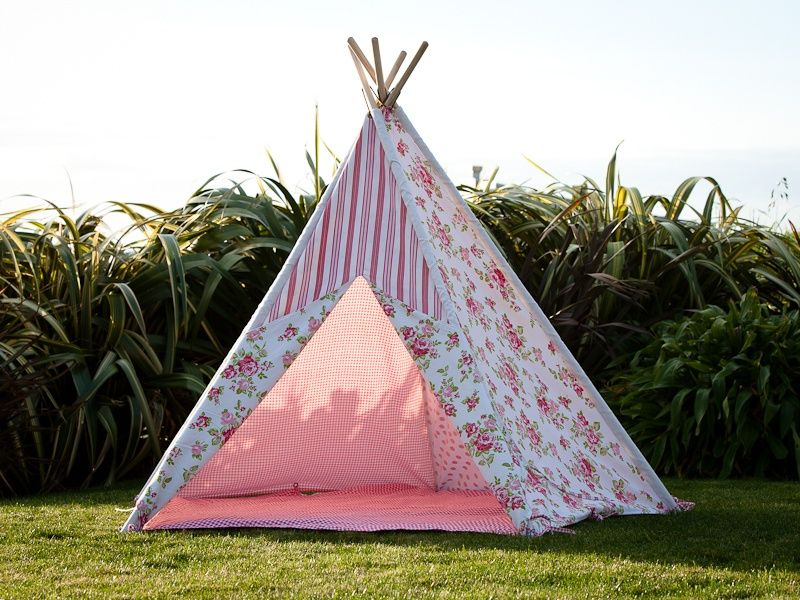 Mocka Childrens Teepee Play Tent : girl play tents - memphite.com