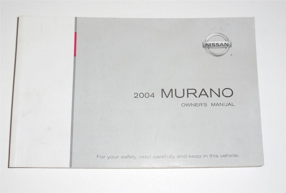 2004 nissan murano owners manual book owners manuals pinterest rh pinterest com 2004 nissan titan owner's manual pdf 2004 nissan sentra owners manual