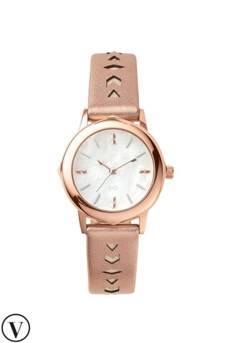 Rose Gold Interchangeable Bezel Watch | Stella & Dot