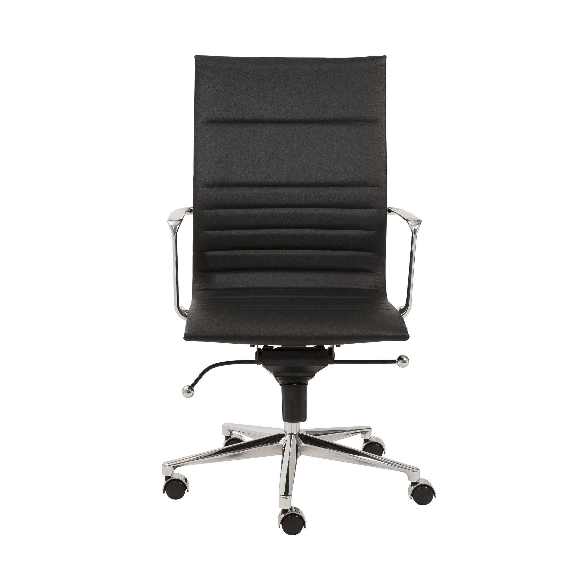 office chair upholstery. Eurostyle Kyler High-Back Leatherette Office Chair With Arms Upholstery: Upholstery