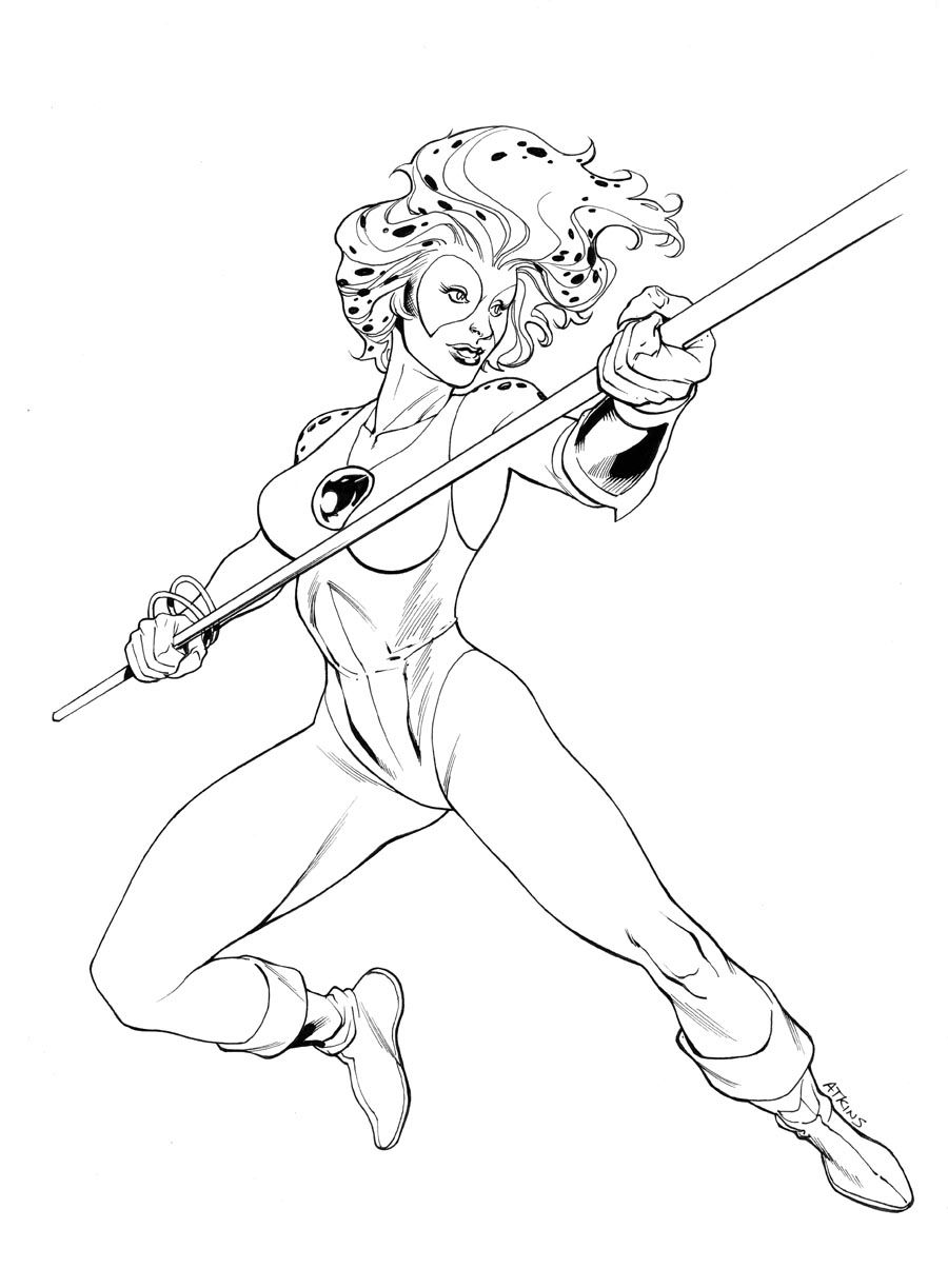 Thunder Cats | Thunder Cats | Coloring pages for girls, Wolverine ...