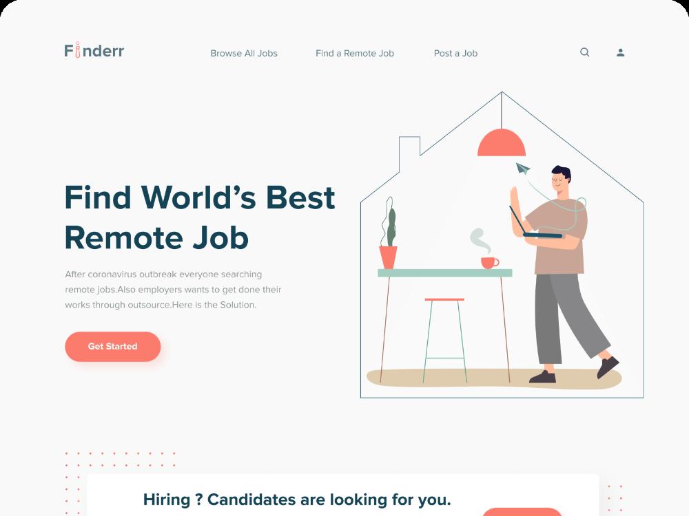 Remote Job Finder Web Exploration in 2020 Remote jobs