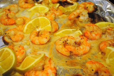 Culinary Adventures with Camilla: SRC Reveal: Garlic Lemon Shrimp