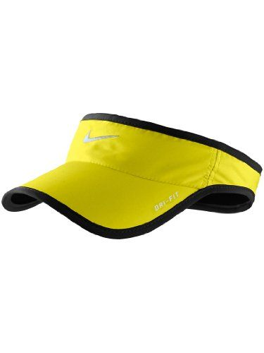 Nike Dri Fit Feather Lite Visor Sonic Yellow Check This Awesome Product By Going To The Link At The Image Nike Dri Fit Nike Visor