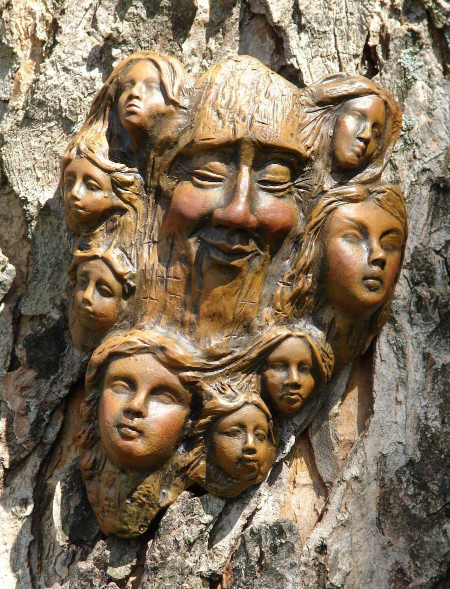 Tree art wood carving pinterest woods
