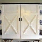 diy barn closet doors, storage locker, mudroom area | DIY ...