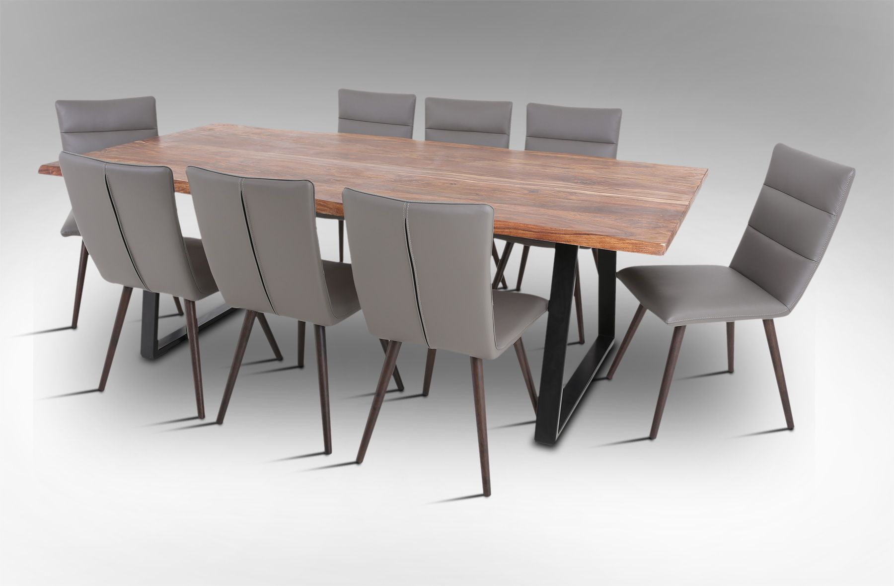 Elite Dining Room Furniture Rio 2300 Dining Table With 8 Elite Dining Chairs Image 1  St