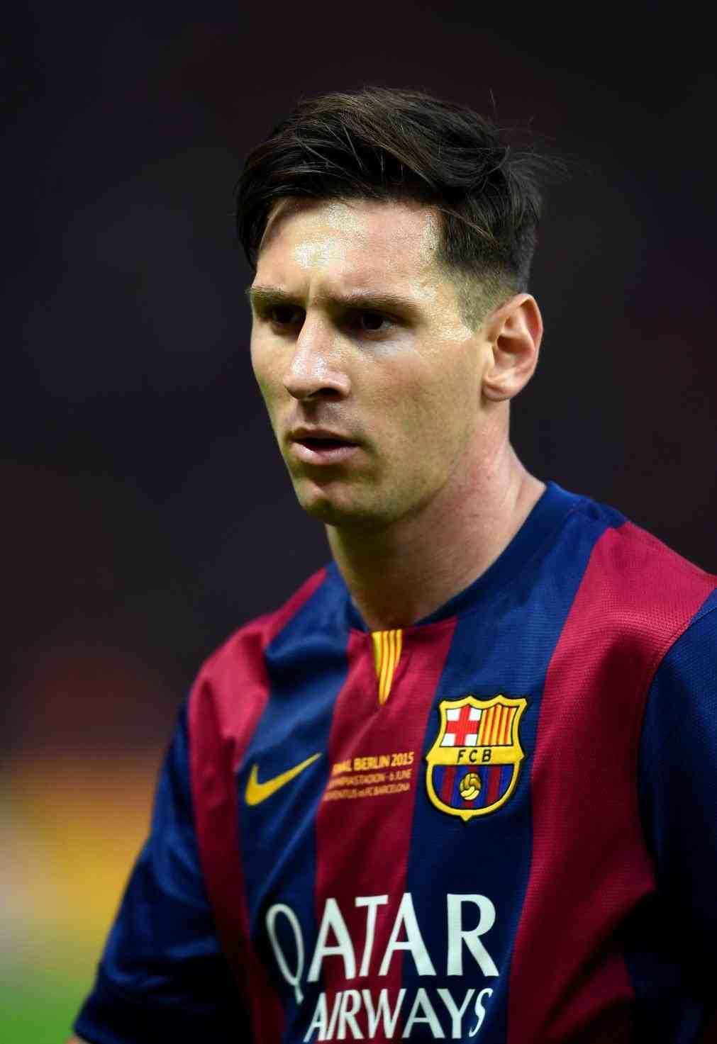 Messi 2016 Hairstyle