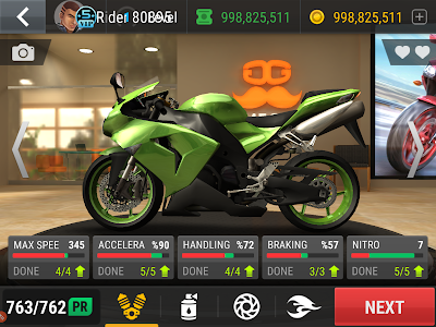 Racing Fever Moto Unlimited Money Mod Apk Download for Android