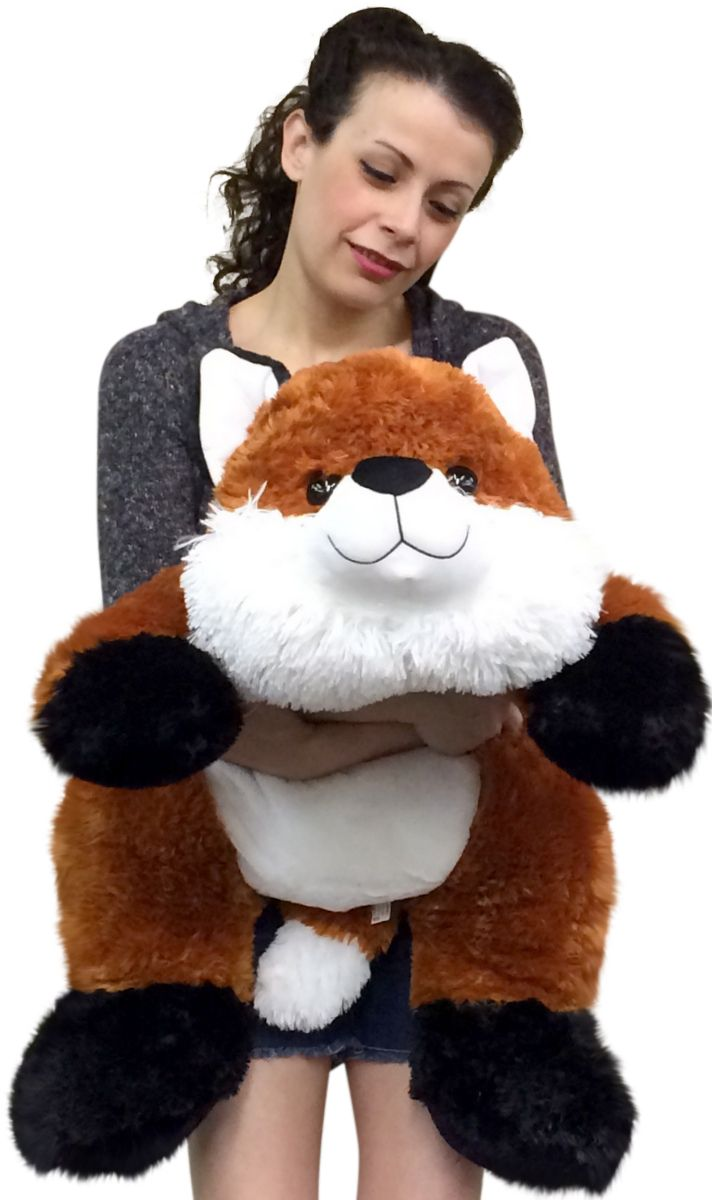 Giant Stuffed Fox 36 Inches Soft Big Plush Superior Quality Large Stuffed Animal [ 1200 x 712 Pixel ]